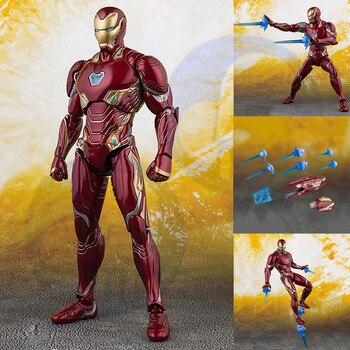 NEUE Wunderwerke Wählen Eisen Mann MK50 Mark unendlichkeit krieg Rüstung PVC Action Figure Sammeln Modell Spielzeug Ironman ACGN figur Brinquedos