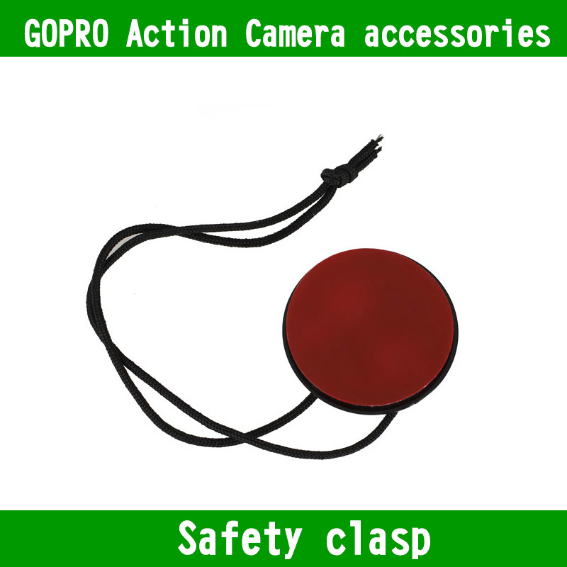 f70ddf5b39409 Kingma ل gopro الملحقات كاميرا الحبل الشريط مع 3 متر لاصق جبل ل xiaomi يي  sjcam SJ4000 wifi SJ9000 بطل 1 2 3 3 + 4