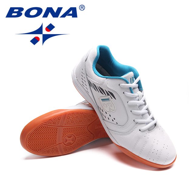 BONA New Classics style Men Soccer Shoes Professional Trainer Football Shoes Outdoor Jogging Sneakers Light Soft Free Shipping