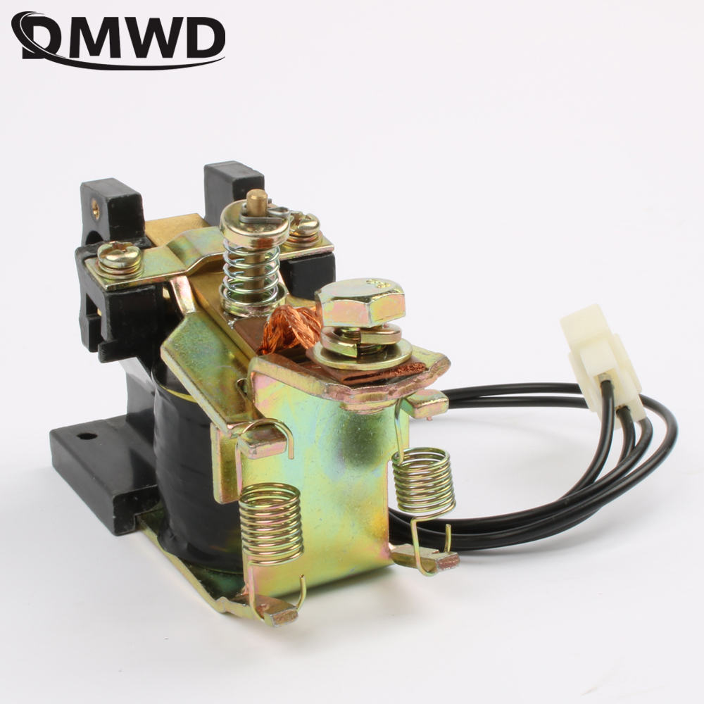 ZJN100 NO (normally open) style 12V 24V 36V 48V 60V 72V 100A DC Contactor for motor forklift electromobile grab wehicle car