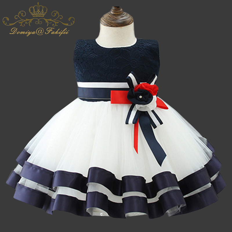 Baby Girls Party Princess Dress For Wedding 2018 Infant Christening Gown 1 Year Birthday Dress Christmas Kids Clothing Ball Gown children dress clothing baby girls fancy dress for birthday party wedding christmas new year ball gown kid princess girl dresses