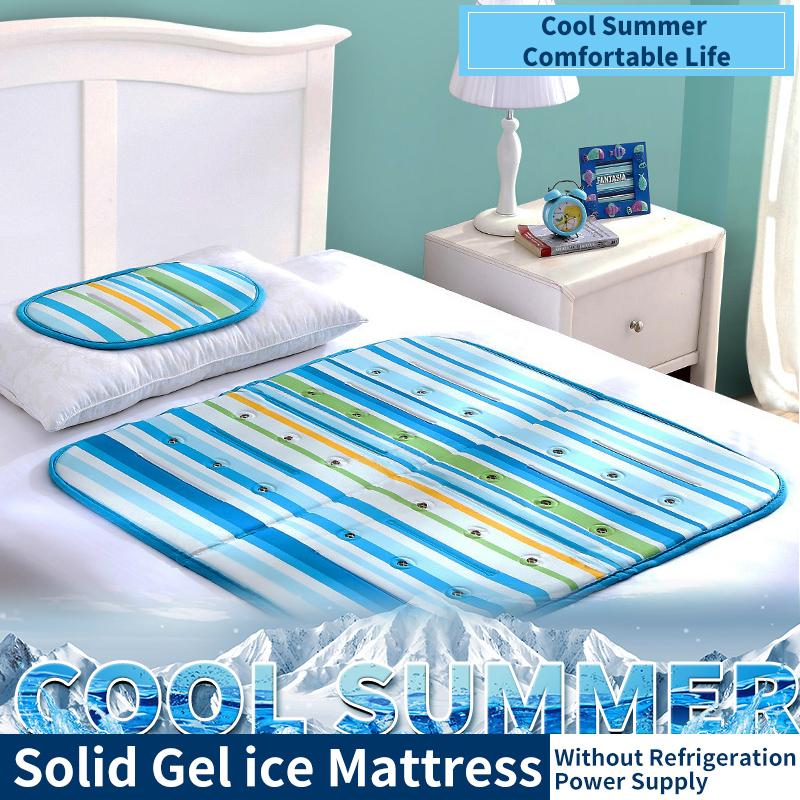 90 * 90cm summer small bedding cool mattress sleeping pad pillow cushion cooling artifact solid gel pad