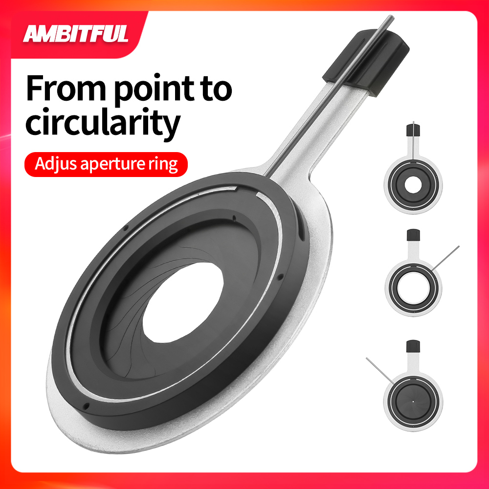 AMIBITFUL Focalize Conical Snoots Adjust Aperture Ring for AMBITFUL Dedicated AL 16 Conical Snoots