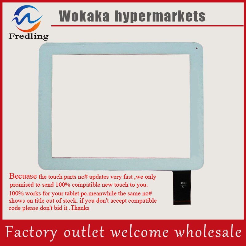 Original White Capacitive touch screen digitizer glass touch panel Sensor 9.7 inch Digma IDsD 10 iDsD10 3G Tablet Free Shipping original 7 inch allwinner a13 q88 zhc q8 057a tablet capacitive touch screen panel digitizer glass sensor free shipping