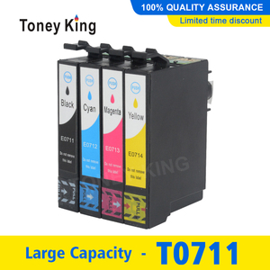 T0711 T0712 T0713 T0714 Ink Cartridge for Epson T0715 Stylus DX6050 DX7400 DX7450 DX8400 DX8450 DX9400 DX9400F Printer(China)