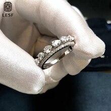 LESF Pear Cut  Dinner Ring Fashion Silver 5A Zircon Wedding Bands 925 Sterling Silver Engagement Bridal Rings Custom Jewelry цена в Москве и Питере