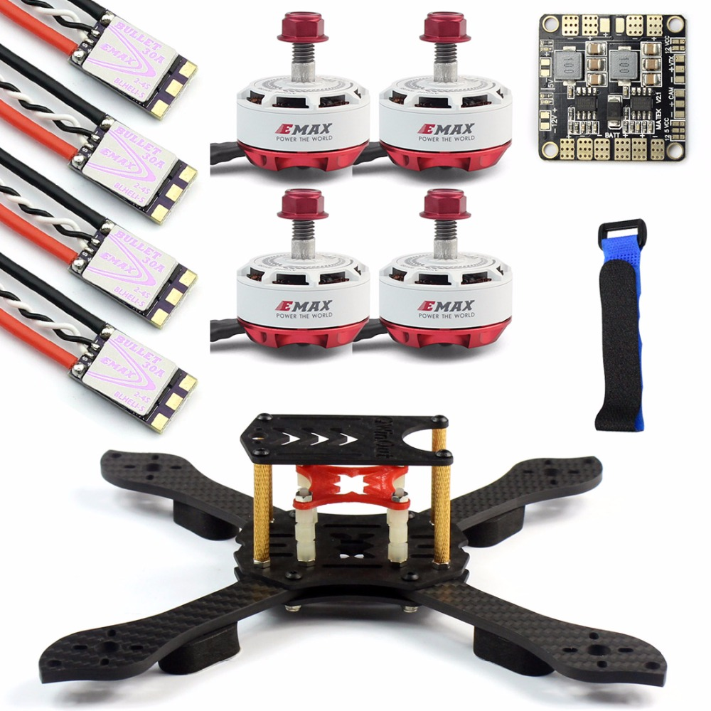 DIY Kit Threel X 3K Removable Frame RS2306 2400KV Motor Brushless 30A ESC with PDB for RC FPV Racing Dshot Drone Quadcopter