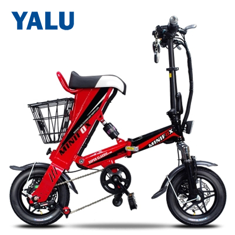 Smart Folding Electric Bike Mini Electric Moped Bicycle 36V 350W 8AH 12AH 16AH Battery With Double Disc Brakes Electric BicycleSmart Folding Electric Bike Mini Electric Moped Bicycle 36V 350W 8AH 12AH 16AH Battery With Double Disc Brakes Electric Bicycle