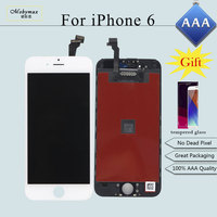 Mobymax 100 AAA Quality LCD For IPhone 6 A1586 A1549 LCD Display Touch Screen Digitizer LCD