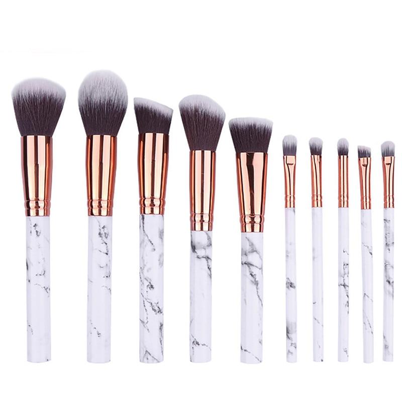 HAICAR makeup brushes 10Pcs Multifunctional Makeup Brush Concealer Eyeshadow Brush Set Tool cosmetic Brush Nov27