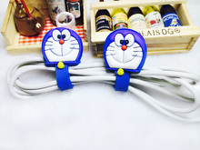 Cartoon Cable Protector Data Line Cord Protector Protective Case Cable Winder Cover For USB Charging Cable Free shipping