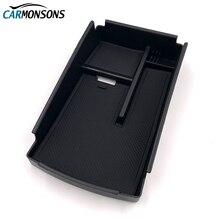 Carmonsons организатора автомобилей для Фольксваген CC Passat B6 B7 подлокотник ящик для хранения перчатки держатель Контейнер лоток стайлинга автомобилей
