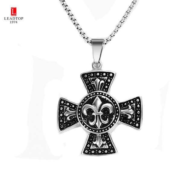 High quality maltese cross signet pendant necklace men cross high quality maltese cross signet pendant necklace men cross necklaces unique gold maltese cross pendants mozeypictures Choice Image