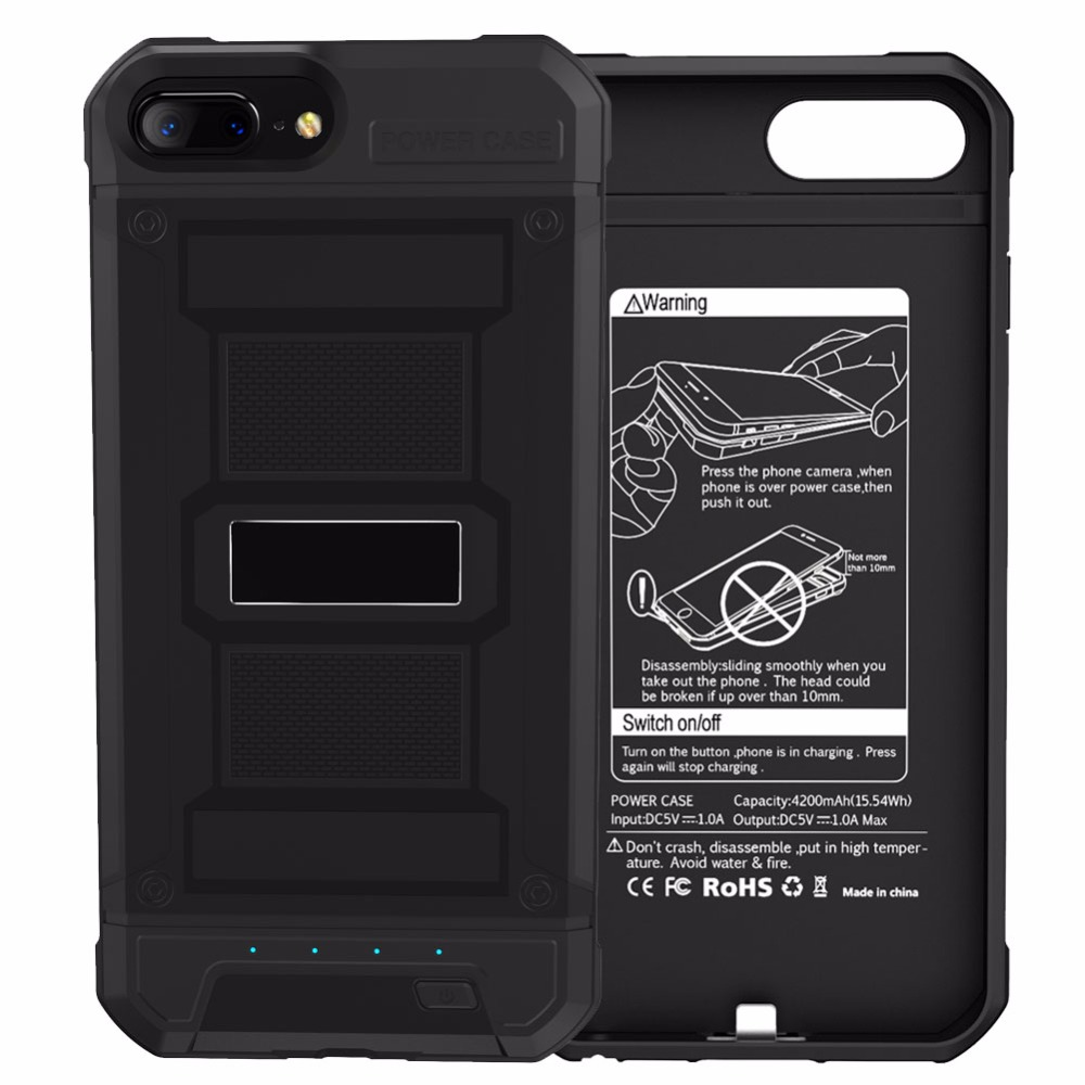 <font><b>Battery</b></font> Case for iphone 6 3000mAh Power Bank Case Phone External <font><b>Battery</b></font> Pack Backup Charger Case For iPhone 6 <font><b>6S</b></font> 7 <font><b>Battery</b></font> Case