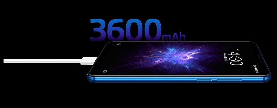 Meizu Note 8, 4 ГБ, 64 ГБ, глобальная версия, мобильный телефон Snapdragon 632, четыре ядра, Note8, смартфон, полностью металлический корпус, двойная камера заднего вида