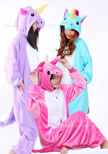 new arrivals cute unicorn tenma adults flannel pyjama suits cosplay costumes garment cartoon animal onesies pajamas