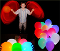 10pcs/lot 12inch LED Lighting Wedding Balloons Luminous Latex Hellium Air Balloon Birthday Party Valentine Celebration Supplies