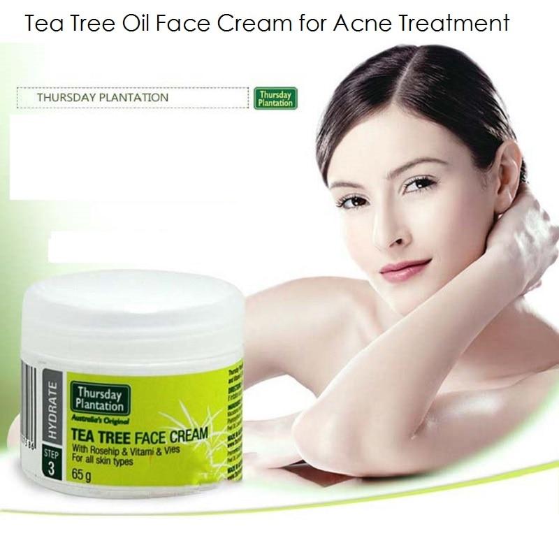 Tea Tree Face Cream Acne Scar Remove Acne treatment Powerful acne remover Remove whelk shrink pore Moisturizing Face care Cream
