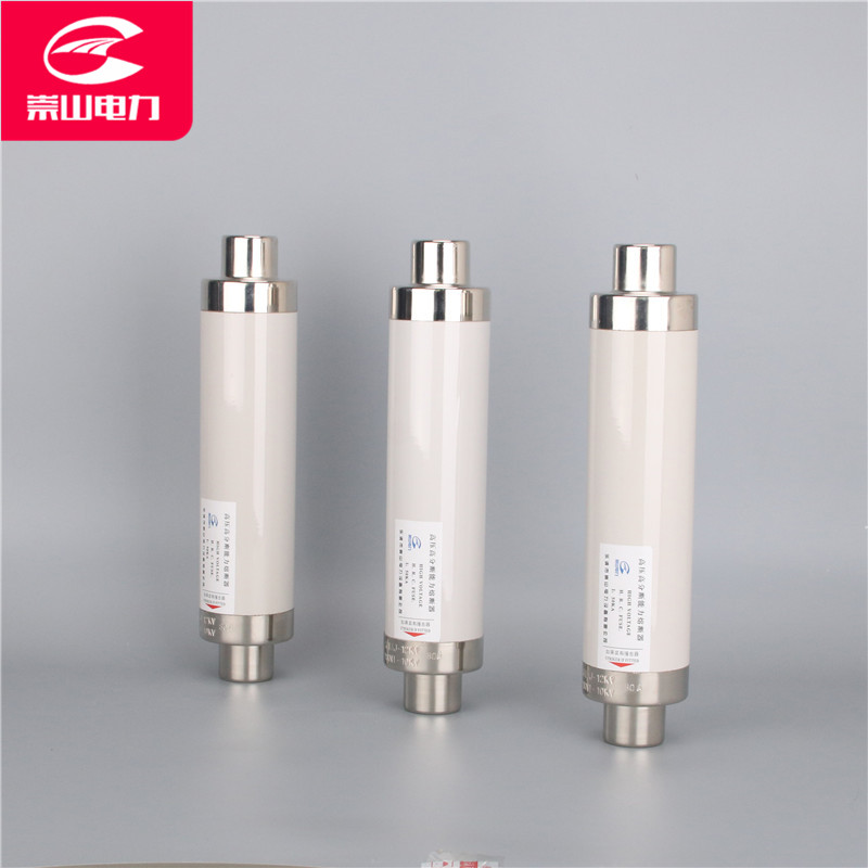 High breaking high voltage current limiting fuse XRNT1-24KV/50A-63A-80A-100A ceramic fuse tube high power high voltage drop type fuse link fuse rw11 10 12kv 100a 200a