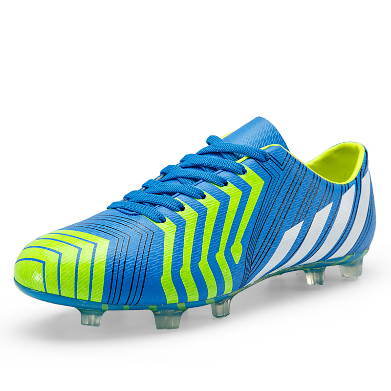 LEOCI New Men Soccer Boots FG Chaussure De Football Shoes Light Weight  Football Cleats Shoes FREE FLEXIBLE Botas Futbol Hombre-in Soccer Shoes  from Sports ...