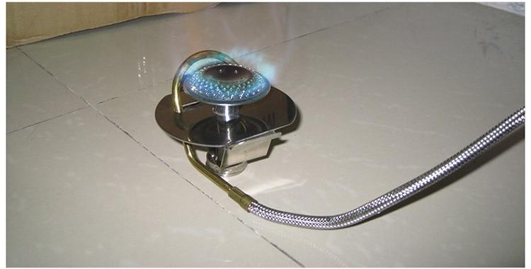 a gás queimador dobrável acampamento aquecedor butano