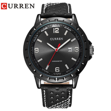 Fashion Curren 8120 Men's Round Dial Analog Watch with Date