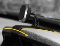 Magnetic CD Player Car Phone Holder Air Vent Clip Dashboard Suction Stands For oto M,Moto E3 Power/G4 Play/g4 plus/G3/X Style