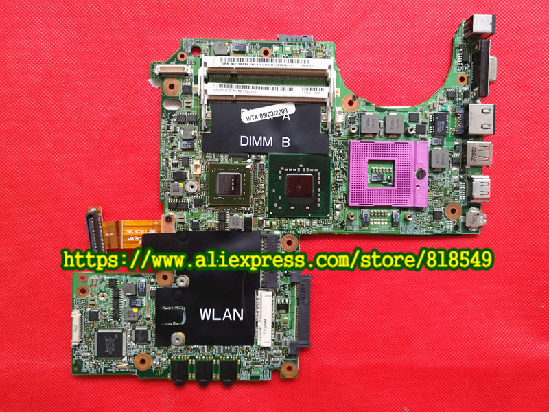 CN-0PU073 0PU073 Main Board Fit for DELL XPS M1330 laptop motherboard DDR2 G86-631-A2 upgrated graphic cn 0pu073 for dell xps m1330 0pu073 laptop motherboard with g86 631 a2 upgrated graphic card