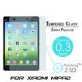 9 H 0.3 ММ Закаленное Стекло Взрывозащищенные Закаленное Для Xiaomi Mipad Mi pad LCD Tablet PC Фильм HD Ясно Экран Защитную Крышку охранник