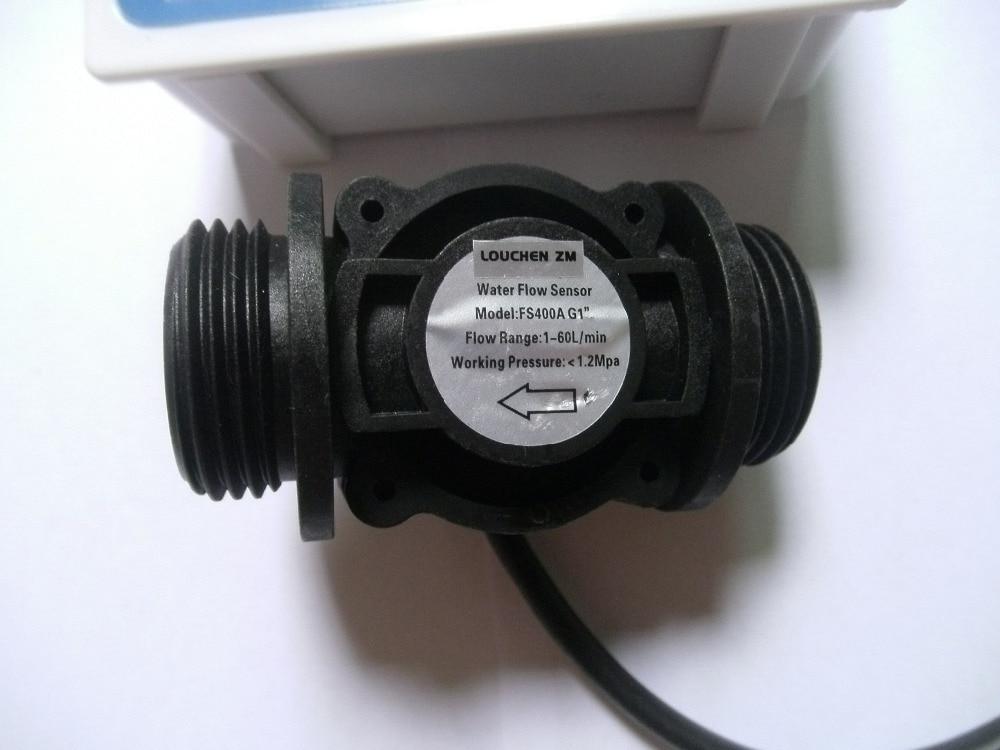 NUOVO misuratore LCD di controllo del flusso d'acqua G1
