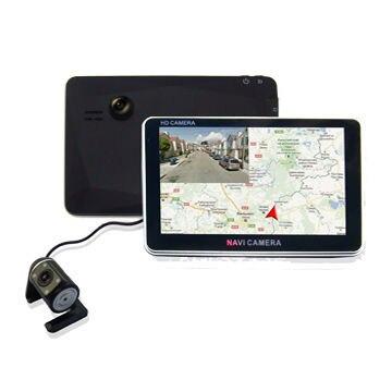 Touch Screen Car Camera GPS Navigator system Car GPS Navigation TCG-007 Freeshipping