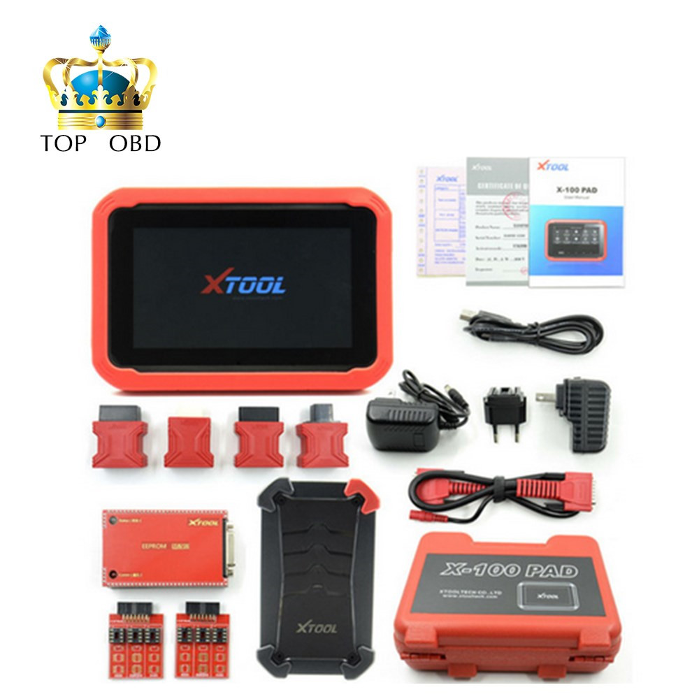 New arrival xtool x100 pad auto key programmer with eeprom immobilizer professional diagnostic tool x100 pad