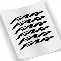 Two Wheel Stickers Set for Farsports Far C2 Ventoux Rim Brake Carbon Road Bike Bicycle Cycling Decals