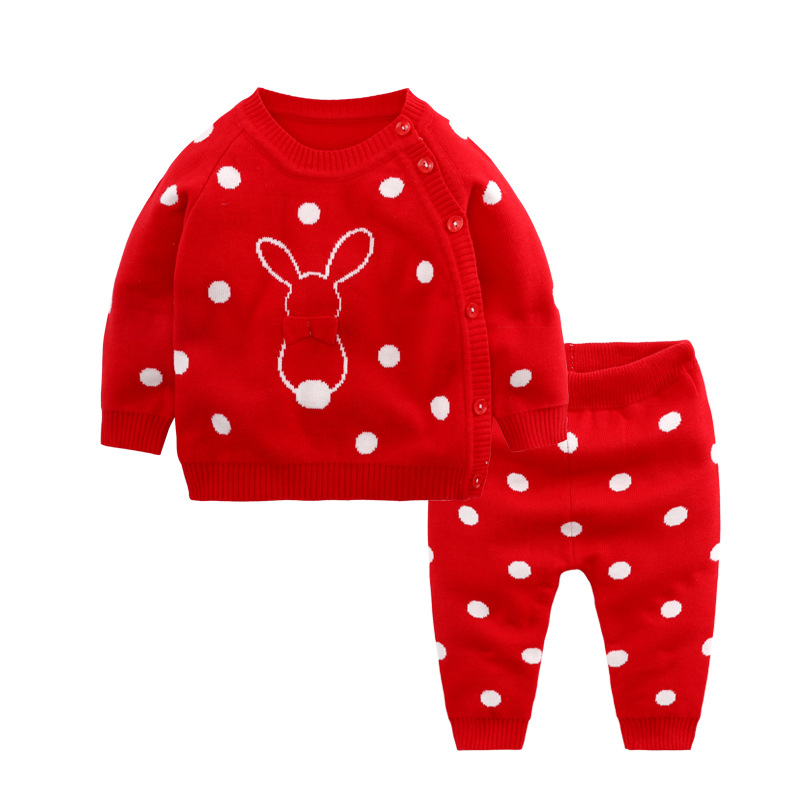Knitted Sweater Set for Baby Girl 2019 Newborn Cartoon Pullover+Pant Baby Boy Sets Outfit Kids Clothes Toddler Infant SetKnitted Sweater Set for Baby Girl 2019 Newborn Cartoon Pullover+Pant Baby Boy Sets Outfit Kids Clothes Toddler Infant Set