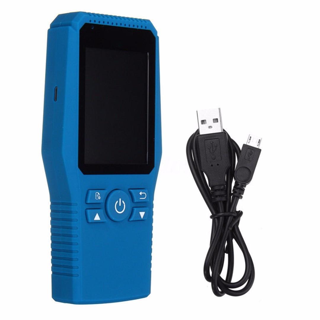 Mayitr LCD Digital Formaldehyde Detector Meter Formaldehyde Air Gas Quality Tester Sensor HCHO TVOC Meter Air Analyzers digital formaldehyde detector meter hcho