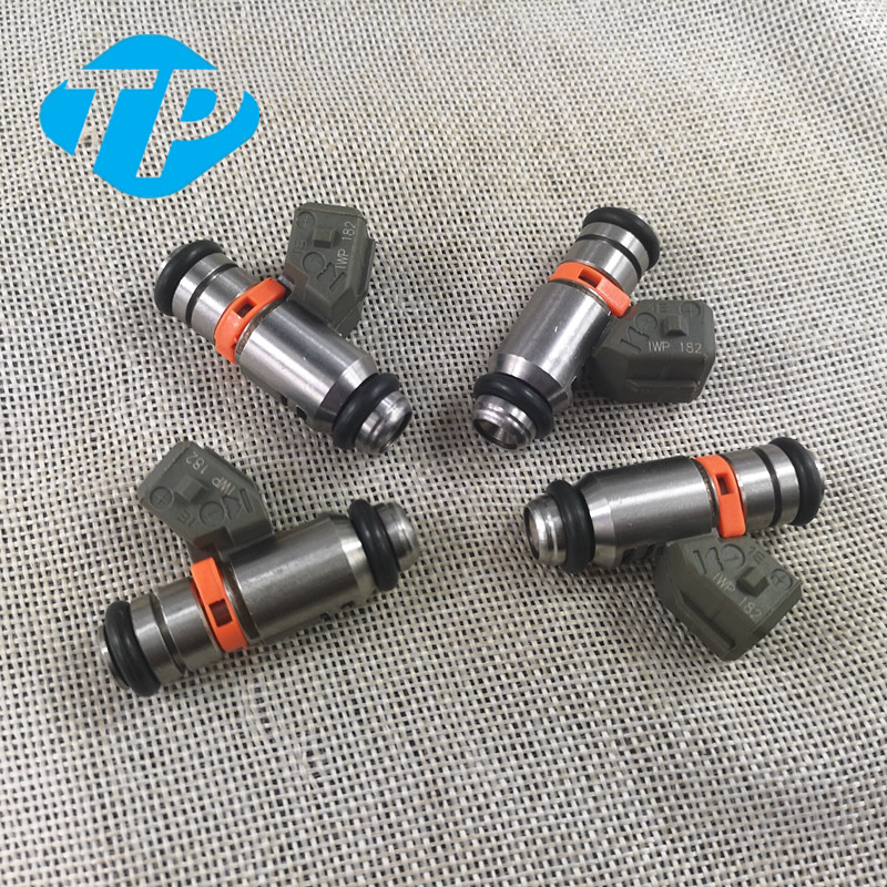 4PCS Fuel Injector IWP182 for Piaggio Gilera Vespa PI8732885 GTS250 300 IWP 182