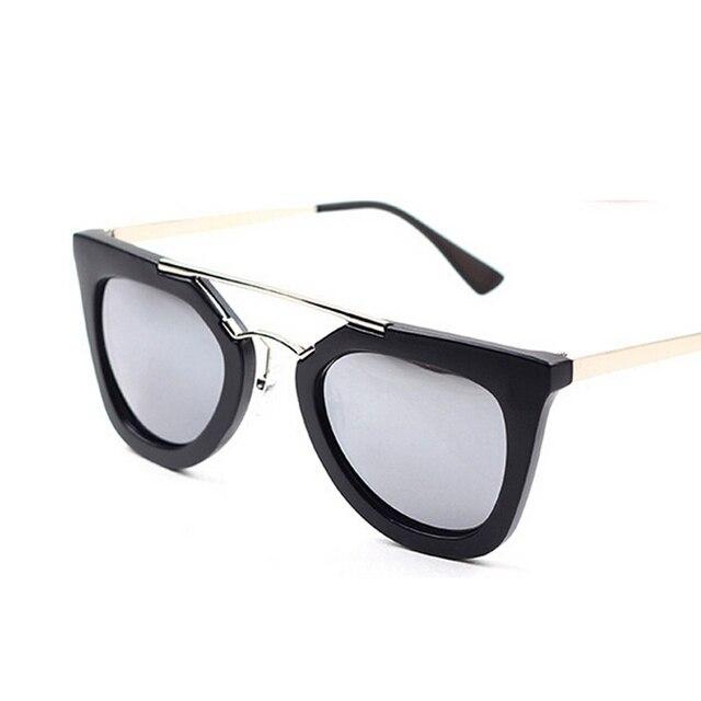 232cfeaf4cfd4 Mais recente Moda Mulheres Óculos De Sol Borboleta óculos Olho de Gato de  Alta qualidade Multi