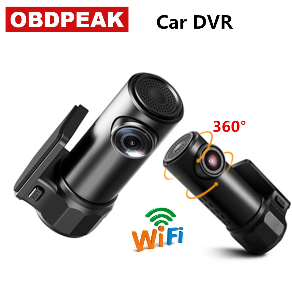 170° 1080P Car WIFI Hidden Dash Camera DVR Video Recorder G-Sensor Night Vision