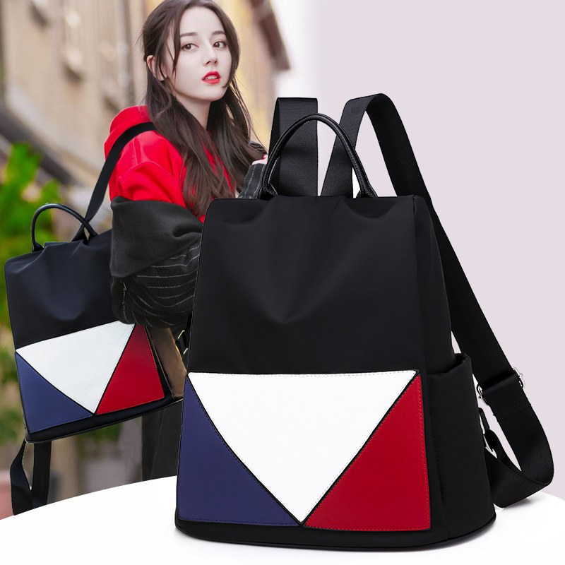 Hot New Backpack Female Leather Laptop Bag Shoulder Schoolbags For Youth Middle School Girls School Bag Japan Fashion 1