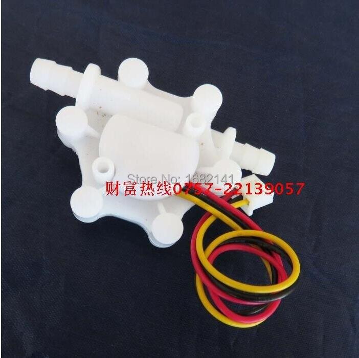 6mm hose barb end hall water flow sensor 01515lmin 1
