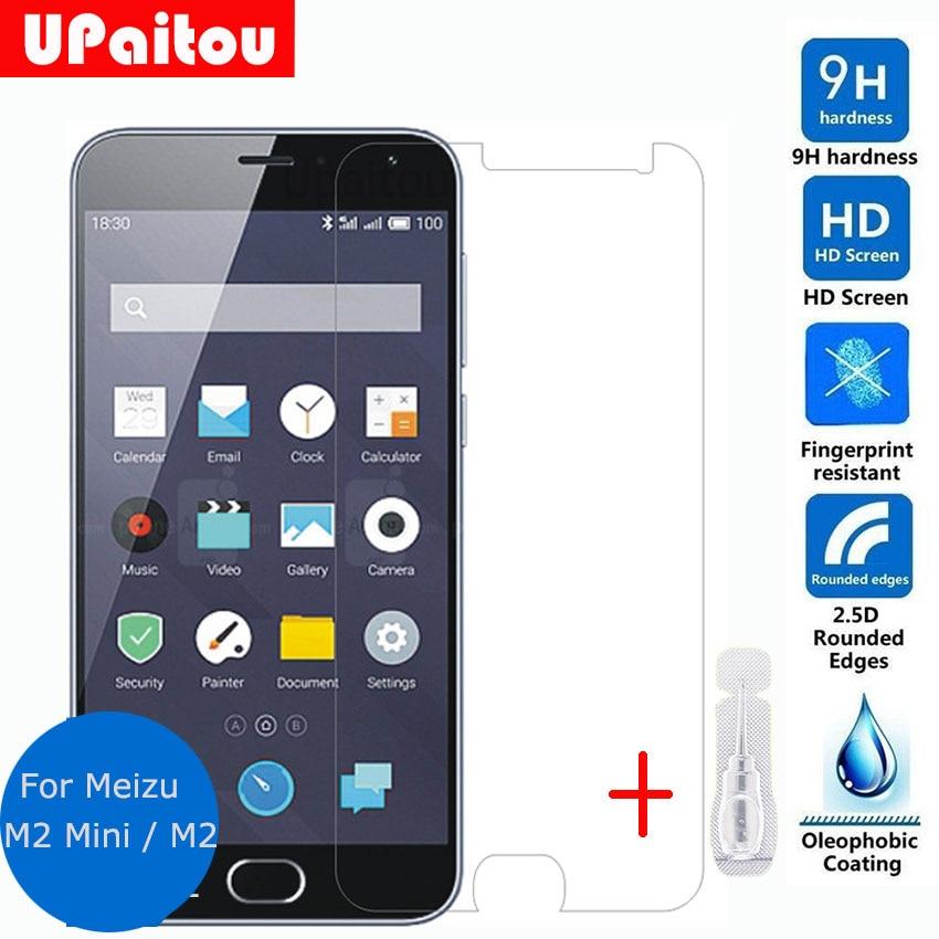 947532336d UPaitou Glass Meizu M2 Mini Tempered Glass LCD Screen Protector Safety  Protective Film on Meizu M2 M2mini M 2 M578A M578U M578M