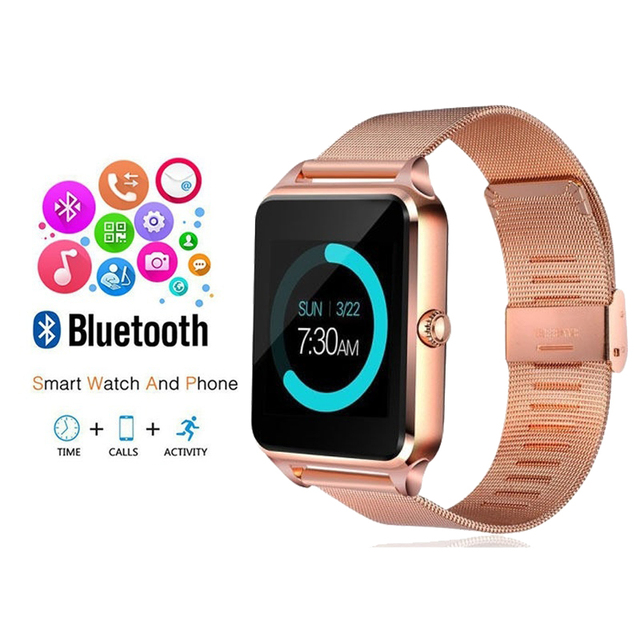 NEW Smart Watches Women's Sport Watch Men 2018 Digital Bluetooth Fashion Ladies Heart Rate Monitor erkek kol saati Android IOS