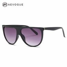 AEVOGUE Sunglasses Women Oversize Vintage Shield Frame Newes