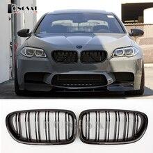 M5 углеродное волокно спереди ABS почек Бампер решетка для BMW 5 серии F10 F11 520d 523i 530d 530i 540i 535i 528d 2010