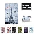 Для Samsung Galaxy Tab A A6 10.1 P580 P585 Откидная Крышка funda случаи Смарт Обложка shell кожи Бесплатная Доставка С Свободным Подарком