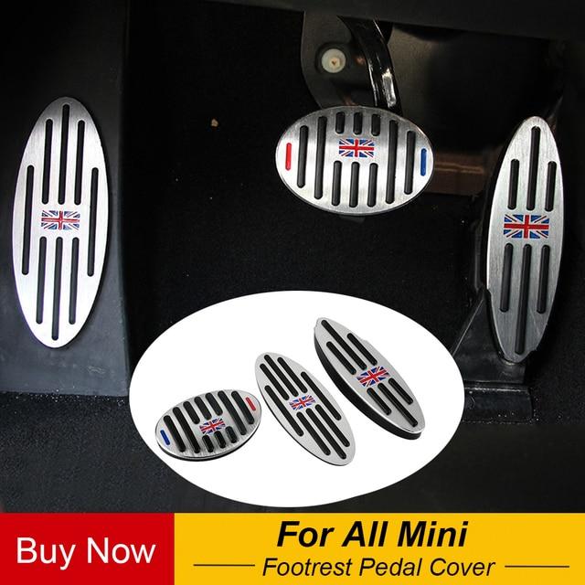 Jack Aluminium Zu Fußstütze Gas Bremse Kupplung Pedal Abdeckung Für