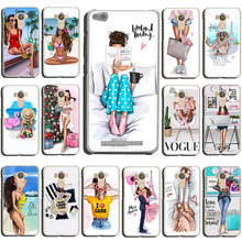 VOGUE Christmas Princess Girl Female Hard phone case for
