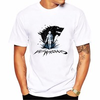 Valar Morghulis Valar Dohaeris T Shirt Men White Casual Breathable Plus Size Tee Shirt Homme Arya