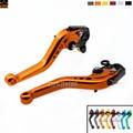 Hot Sale Motorcycle Accessories Short Brake Clutch Levers For KTM 690 SMC 690 SMC-R 690 DUKE Orange