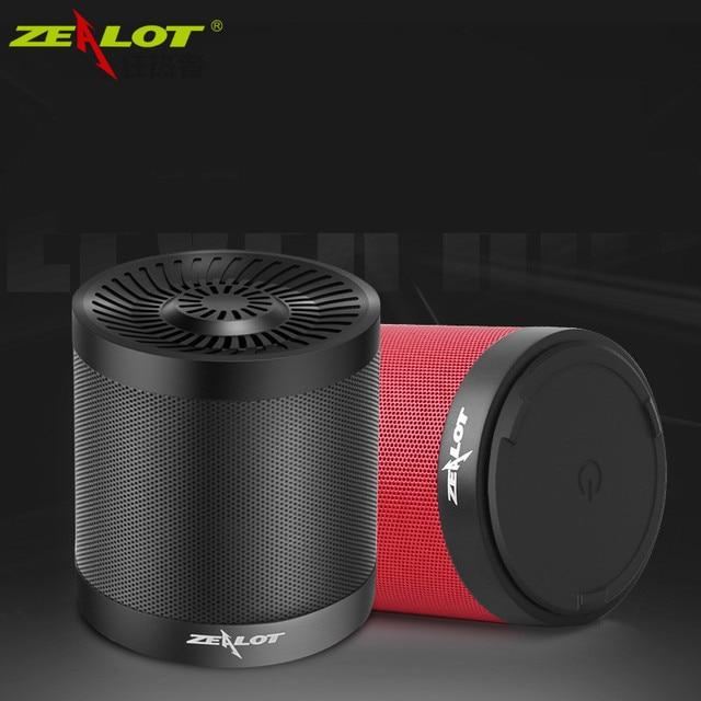 Оригинал ZEALOT S5 2000 мАч Портативный Динамик Поддержка Карты ПАМЯТИ AUX Флэш-Диск Открытый Беспроводной Bluetooth 4.0 Спикер